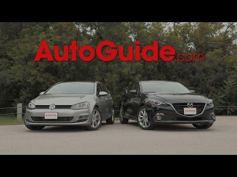 2015 Mazda3 vs. 2015 Volkswagen Golf