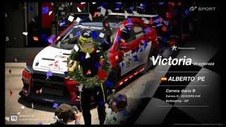 🚩Gran Turismo SPORT Online🚩 Road to Trophy,Record de victorias, 24 Victorias, C.B. Mitsubishi Lancer