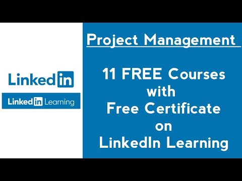 Project Management Free LinkedIn Learning Courses with ...