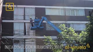 INICIAN DEMOLICIONES EN COAPA SISMO 2017