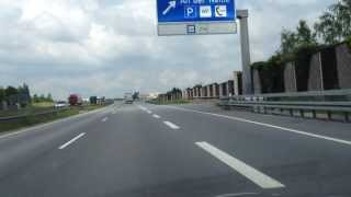 preview picture of video 'Grenzübergang Zgorzelec / Görlitz Autobahn A4 Border Crossing Motorway'