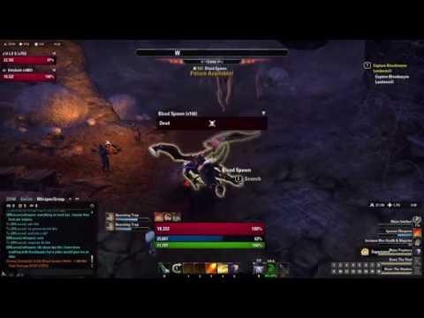 ESO: Bloodspawn Magicka DK 37k Parse