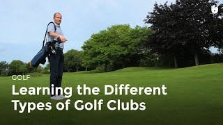 Learn about the Different Clubs   Golf