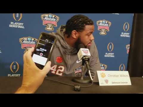Christian Wilkins on Clemson experience