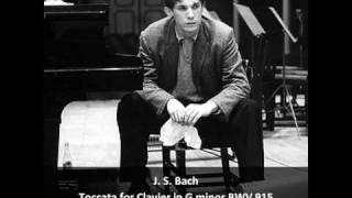 J. S. Bach - Toccata for Clavier in G Minor BWV 915 - Glenn Gould