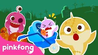 👻Peekaboo! Baby Shark Babysits on Halloween   Halloween Story   Pinkfong Songs for Children