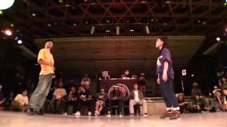 Akinobu vs Chika-J @ HIPHOP FOREVER JAPAN 2016 BEST 6 BATTLE