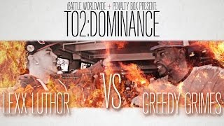 iBattle Worldwide Presents: Lexx Luthor Vs Greedy Grimes