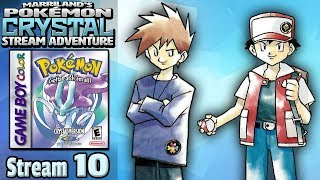 Marriland's Pokémon Crystal Adventure • Stream #10 • The War of Blue and Red! [Finale]