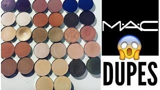 MAC Eyeshadow Dupes 2016   Karity