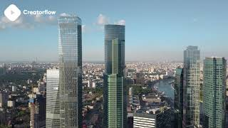 ???? Moscow Russia Stock Footage | DJI Phantom 4 4K Royalty free stock video footage