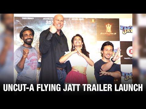 Uncut: A Flying Jatt Trailer Launch | Tiger Shroff | Jacqueline Fernandez