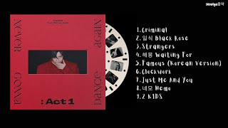[FULL ALBUM] TAEMIN (태민) - Never Gonna Dance Again: Act 1 (3rd Album)