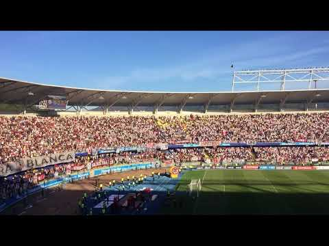 """HIMNO DE COLO COLO CANTADO EN CONCEPCIÓN TITULO 32"" Barra: Garra Blanca • Club: Colo-Colo"