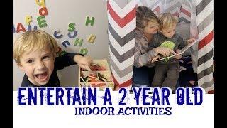 HOW TO ENTERTAIN A TODDLER | Indoor Activities