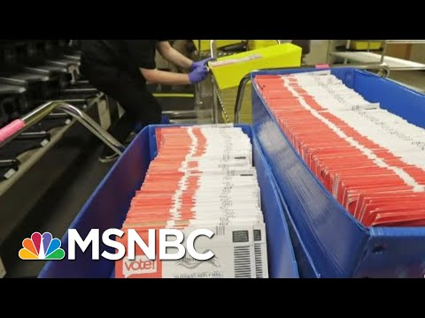 USPS Warns States Of 'Significant Risk' Of Delay For Mail-In Ballots | MTP Daily | MSNBC
