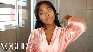 Sni Mhlongo's Flawless Foundation Routine | Vogue Inspired | South African YouTuber