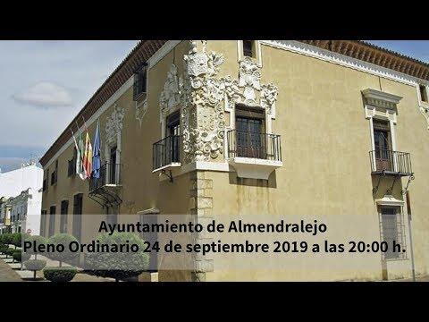 Pleno Ordinario Septiembre 2019