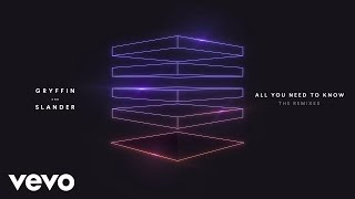 Gryffin, Slander - All You Need To Know (Jason Ross Remix/Audio) ft. Calle Lehmann