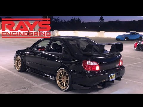 SUBARU WRX STI GETS NEW WHEELS & 2 STEP ACTION!