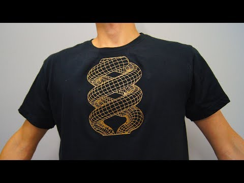 Awesome 3D Printed T-shirt Design!!!