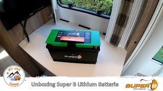 Unsere neue Lithium Batterie von Super B ist da #01| Wir sind Camper