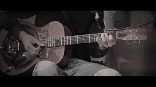 Robert Johnson - Rambling on my mind (Cover played with Dobro Hound Dog)