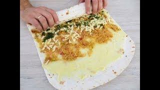 Закуска со вкусом пирожков / Очень вкусный вариант! Рулет из лаваша / Lavash roll