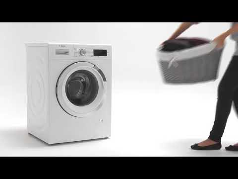Bosch Freestanding Washing Machine WAU28R90GB - White Video 1