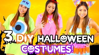 DIY HALLOWEEN COSTUMES FOR TEENS!! CHEAP & EASY 2016!
