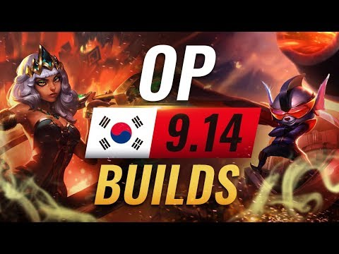 12 NEW Korean Builds to Copy in Patch 9.14 - League of Legends Season 9