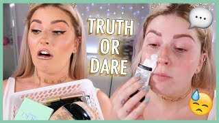 TRUTH OR DARE Makeup Challenge 💩 ft Makeup I Hate!