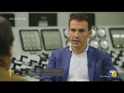 L'Ing. Fontani spiega come avviene lo smantellamento delle scorie nucleari italiane
