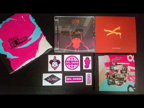 """Guzior - Evil_Things """"Preorder"""" (Unboxing CD)"""