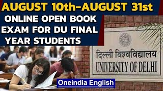 Delhi HC gives nod to online open book examination for Delhi University final year students|Oneindia - Download this Video in MP3, M4A, WEBM, MP4, 3GP