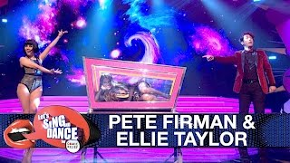 Pete Firman & Ellie Taylor perform Little Mix 'Black Magic' - Let's Sing and Dance for Comic Relief