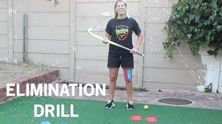 Field Hockey Drill | Elimination Skill Circuit