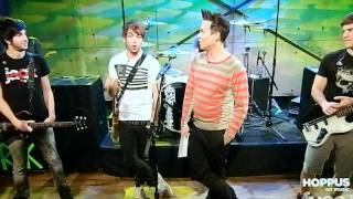 All Time Low Interview and Do You Want Me (Dead) LIVE on Hoppus on Music 6/17/11