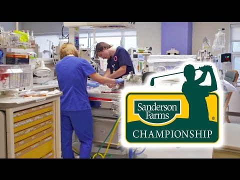 Video: Sanderson Farms Championship helps Mississippi's premature infants