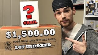 $1,500 Funko Pop Unboxing and Grail Mystery