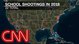 Report: More killed in school shootings than in military in 2018 - Video Youtube