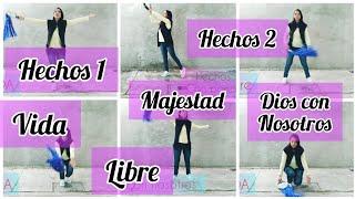 6 RUTINAS DE PANDERO Y ARO DE LLUVIA. Super fáciles.