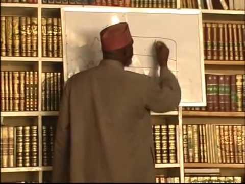 Sheikh Awwal Albany Zaria(Tadween 8)