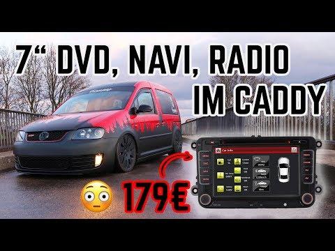 """iFreGo 7"""" DVD, Navi Radio für 179€ im Caddy Minicamper! China RNS Testbericht / FREUNDSHIP"""