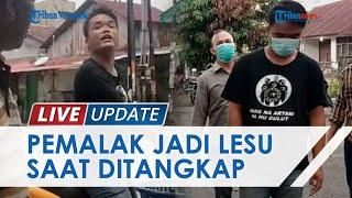 Sempat Tantang Polisi saat Lakukan Pungli ke Pedagang, Dua Pelaku Kini Ditangkap Polsek Medan Barat