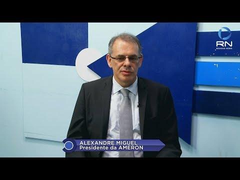 A Justiça na TV, com o presidente da Ameron, desembargador Alexandre Miguel - Gente de Opinião