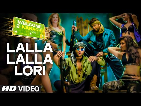 39 lalla lalla lori 39 video song welcome 2 karachi
