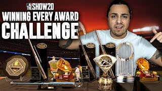 Winning EVERY MLB Award Rebuild Challenge! | MLB the Show 20