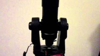 Meade ETX-70 StartUp and GoTo