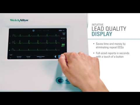 Welch Allyn CP 150 ™ Electrocardiograph